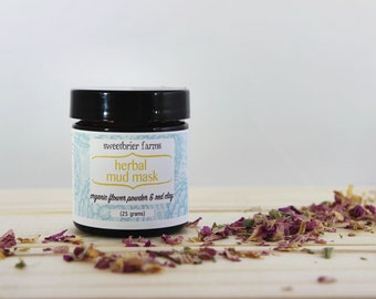 Botanical Mud Mask - Flower Powders