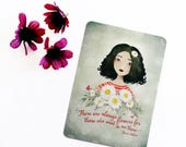 40% OFF - Postcard sale There are always flowers... - Postcard