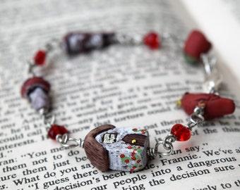 Rose Cottage Charm Bracelet - Sale