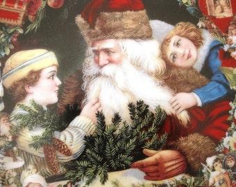Vintage Hamilton Plate, Victorian Christmas Memories/A Visit From St. Nicholas, Original Box, COA Included