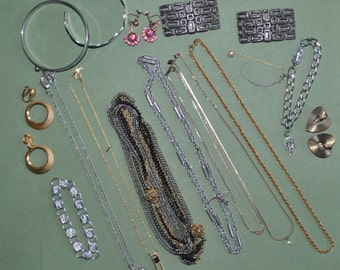 Large Lot Designer Costume Jewelry All Pieces Marked