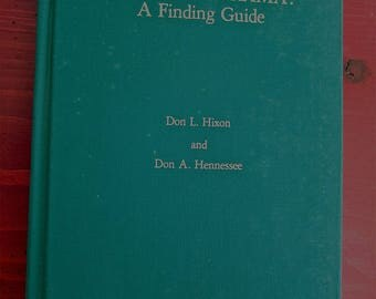 Nineteenth Century American Drama A Finding Guide 1977 Don Hixon and Don Hennessee   Guide to Readex Microprint American Plays 1831 to 1900