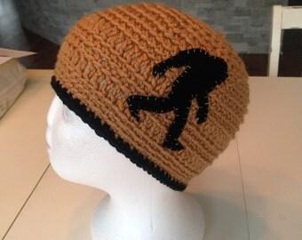 Crocheted Bigfoot Hat