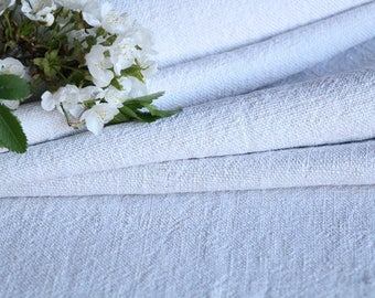 R 625 : antique handloomed  4.15 yards french 리넨  upholstering curtain projects, do it yourself,  PALE CREAMY, wedding, gift, spring,