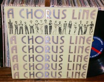 A Chorus Line Vintage Vinyl Musical Soundtrack Record