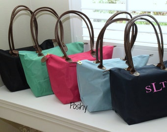 Personalized Tote, Monogrammed bag, Bridesmaid gift, Bride, Bridal Party, Bridesmaid, Gift for her