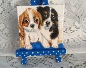 Puppies Mini Art