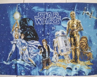 Vintage Star Wars Pillowcase Original
