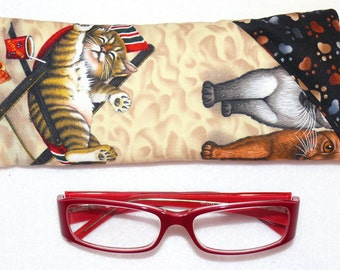 Beach Kittens and Cats - EyeGlasses, Sunglasses, Holder, Case, Cozy