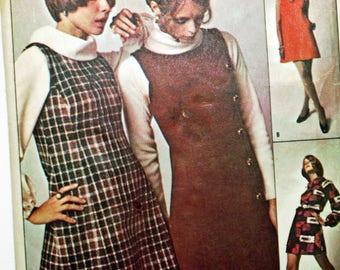 Vintage 1960s, Sewing Pattern, Redbook RB500, Misses' Dress, Jumper and Blouse, Misses' Size 14, Vintage Pattern, UNCUT Pattern, FF