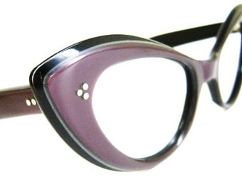 Vintage Purple Eyeglasses or Sunglasses frame