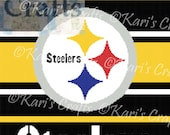 Pittsburgh Steelers Afghan PDF Pattern GRAPH ONLY - Instant Download