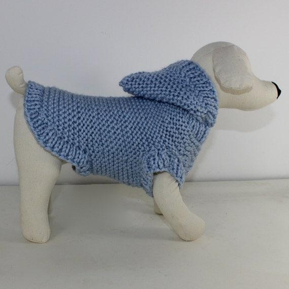 30% OFF SALE madmonkeyknits - Dog Chunky Hoodie Coat