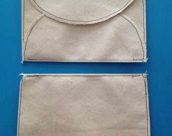 Canvas Sewn Envelope