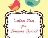 Custom listing for jessicaerinm1