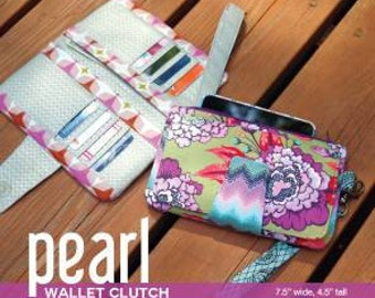 Swoon Sewing Patterns Pearl Wallet Cluth Pattern