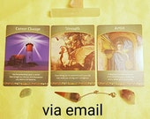 Life Purpose Oracle Card Reading Tarot Cards Pendulum Spiritual Guidance Via Email Same Day Fortune Telling Psychic 3 Card Spread