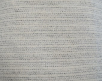 Grey Stripe Felted Wool Fabric Wool Perfect for Rug Hooking, Applique and Crafts by Quilting Acres