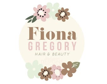 Premade Hair and Beauty Business Logo Design