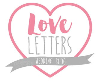 Premade Blog Love Letters Logo Design