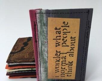 Thin wallet, business card case, credit card holder, slim wallet, front pocket wallet
