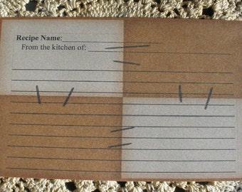 Prim Recipe Cards ~ R47