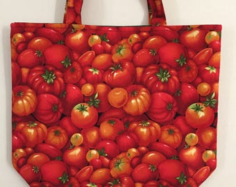 Tomato Market Bag/Tote Bag/Shopping Bag