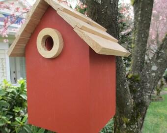 Cedar Birdhouse