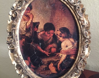 Italian florentia picture ornate frame
