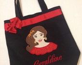 Personalized Tote Bag, Personalized Tote, Elena Tote Bag, Princess Elena Tote, Elena of Avalor Gift, Personalize0 dElena, Princess Tote