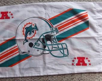 Miami Dolphins  2 Sided Pillowcase