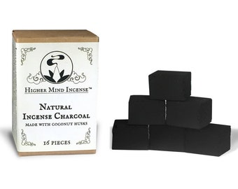Natural Incense Charcoal – Coconut Husk Based - For Incense Resins
