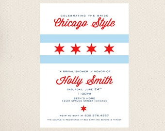 Chicago Bridal Shower Invitation