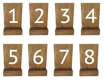 wood table number, wedding table, rustic wedding, table numbers, reclaimed wood, table decor, rustic table numbers, reception decor,