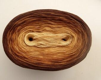 SANDBOX -- 150 gr/720 yards -- Color Changing Cotton yarn   Fingering Weight