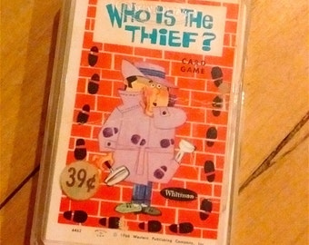 Who Is The Thief? Children's Card Game