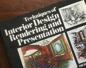 Holiday Sale. Techniques of Interior Design Rendering and Presentation. Sid DelMar Leach, ASID. 1978