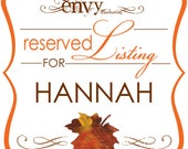 Custom Falling In Love Hand Cut Maple Leaf Wedding Invitation Sets, Autumn Wedding Invitation Sets... Reserved for Hannah W.