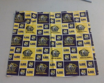 LSU Louisiana State University Fabric 248197