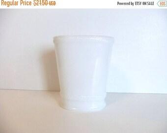 50% off Sale ON SALE Vintage Milk Glass Vase