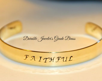 Boyfriend Gift | Hand Stamped Secret Message Bracelet | Handmade Men's Jewelry For Him