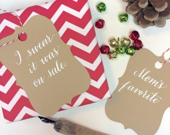 Snarky Gift tags (set of 8)