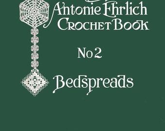 Antonie Ehrlich #2 c. 1914 - Crochet & Knitting Pattern Book of Bedspreads (PDF Ebook - Digital Download)