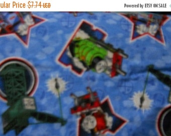 Thomas Train Flannel Fabric--  HARD Find-- 40-70% off Patterns n Books SALE