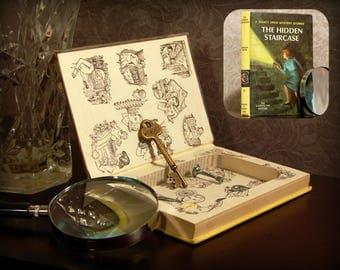 Hollow Book Safe (Vintage 1959 Nancy Drew The Hidden Staircase)