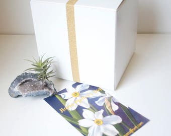 GIft Wrap / Gift Box Upgrade, Father's Day, Birthday, Graduation, Thank You