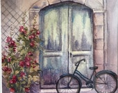Bicycle by the Green Door...