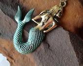 Large Mermaid Pendant