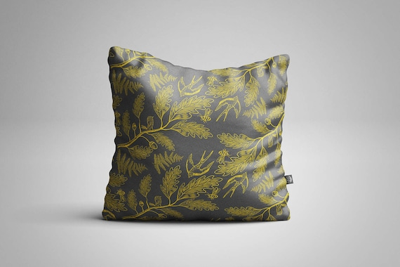 Birds & Bees Cushion (Cover only)