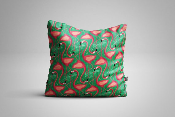 Flamingos Cushion (Cover only)